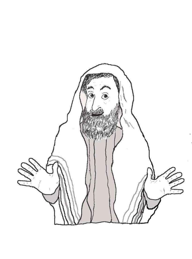 Rebbe 4 hands fanning